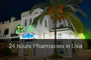 24 hours Pharmacies in Usa