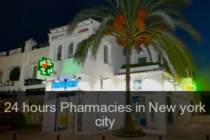 24 hours Pharmacies in New york city