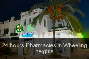 24 hours Pharmacies in Wheeling heights