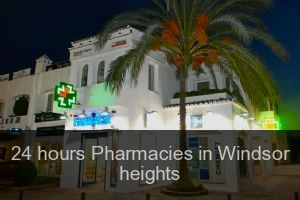 24 hours Pharmacies in Windsor heights
