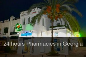 24 hours Pharmacies in Georgia