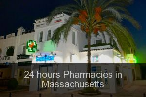 24 hours Pharmacies in Massachusetts