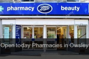 Open today Pharmacies in Owsley