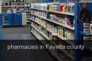 Pharmacies in Fayette county