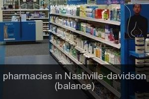 Pharmacies in Nashville-davidson (balance)