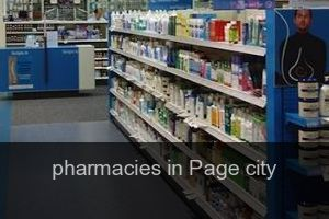 Pharmacies in Page city