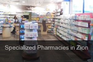 Specialized Pharmacies in Zion